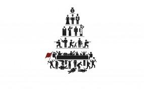 Обои Как устроен этот мир: Пирамида, Люди, Общество, Разное