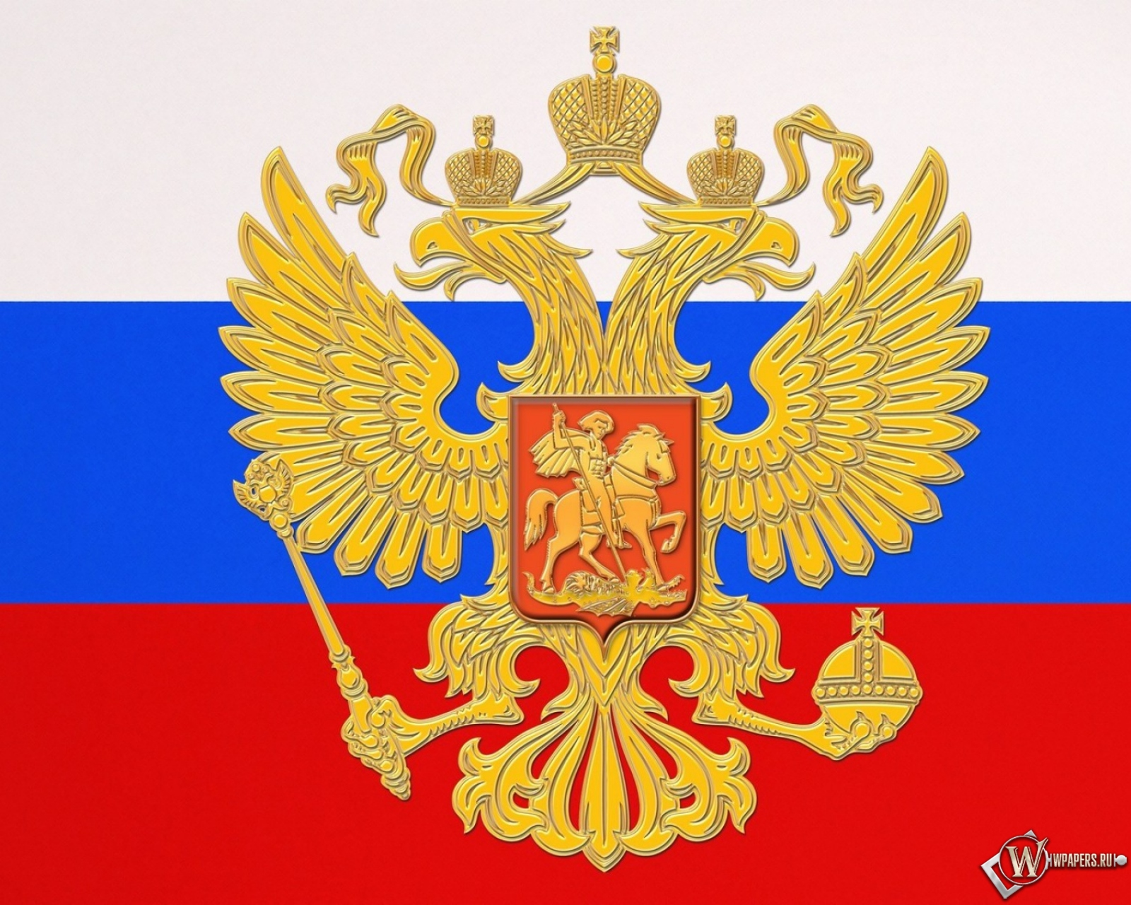 Флаг России 1600x1280