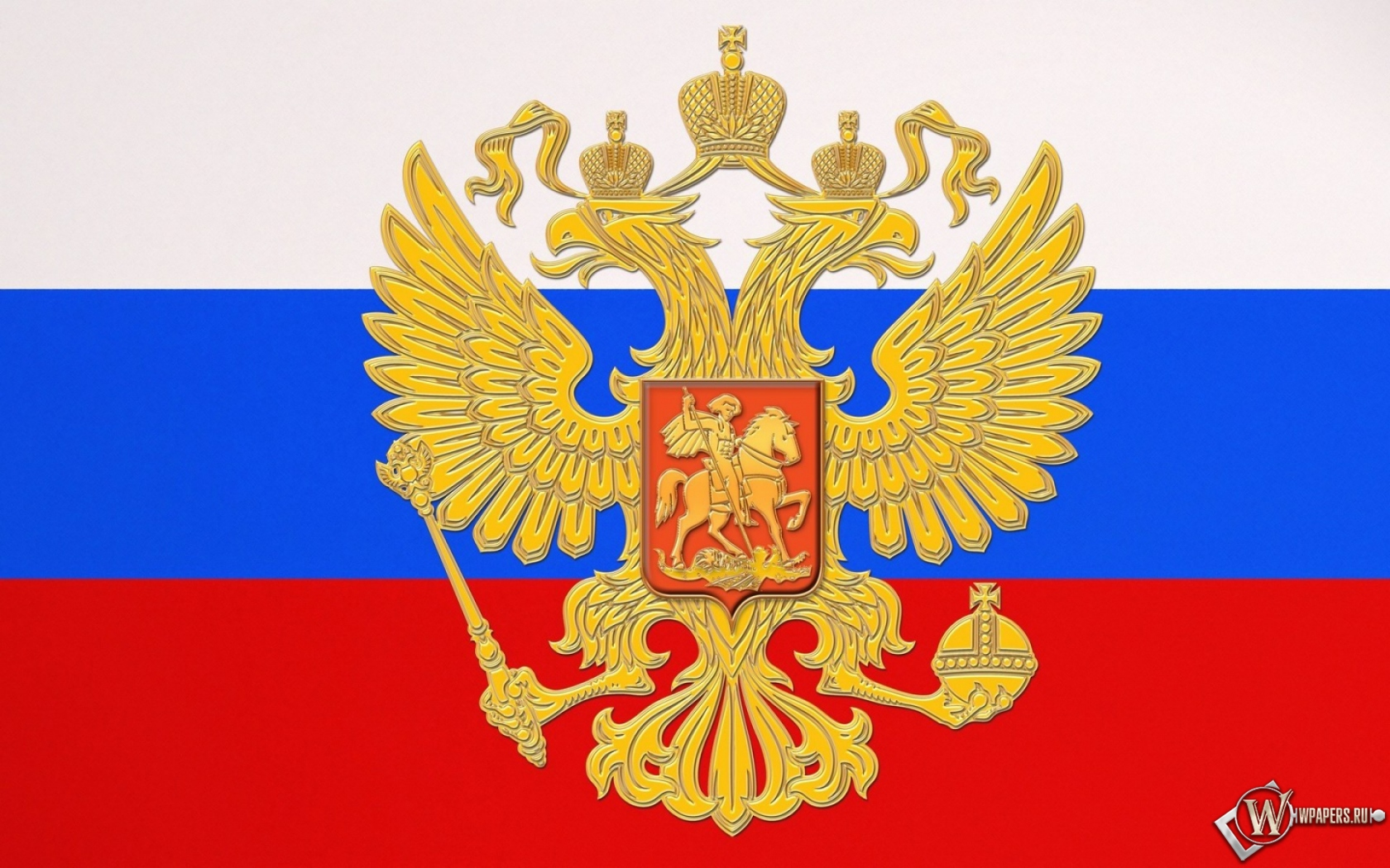 Флаг России 1680x1050