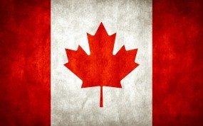 Обои Флаг Канады: Лист, Канада, Флаг, Разное