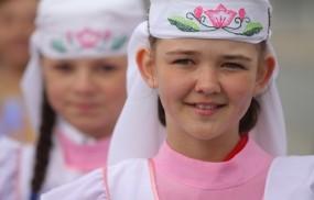 Обои Татарские красавицы: Девочка, Наряд, Татарстан, Разное