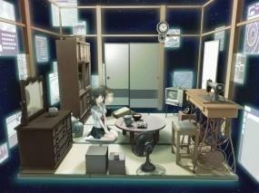 Комната в аниме