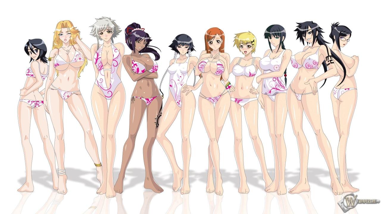 Bleach girls.