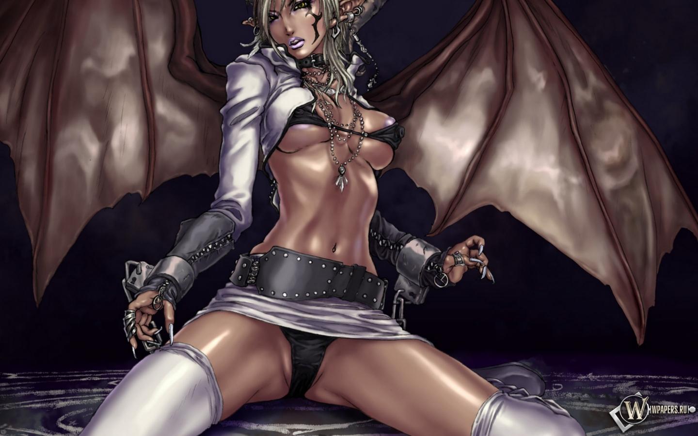 Секс аниме голые вампирки 9 фотография