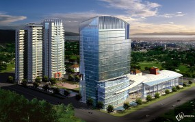 Обои 3D город: , 3D архитектура