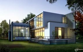 Обои 3D дом: , 3D архитектура