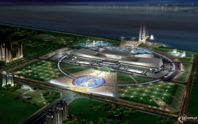 Обои 3D стадион: , 3D архитектура