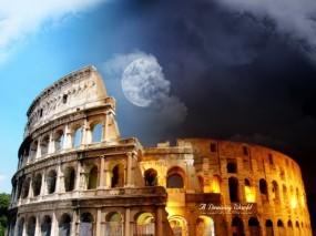 Обои Колизей: Колизей, 3D архитектура