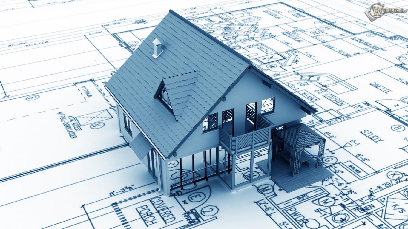 Проект дома 1366x768