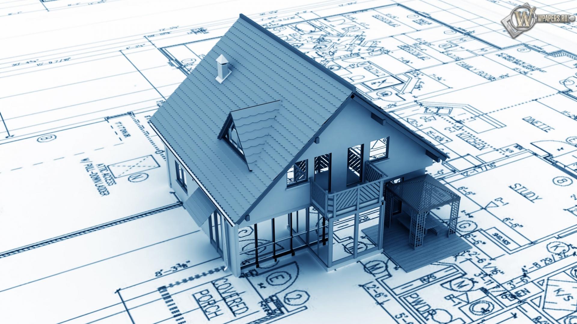 Проект дома 1920x1080