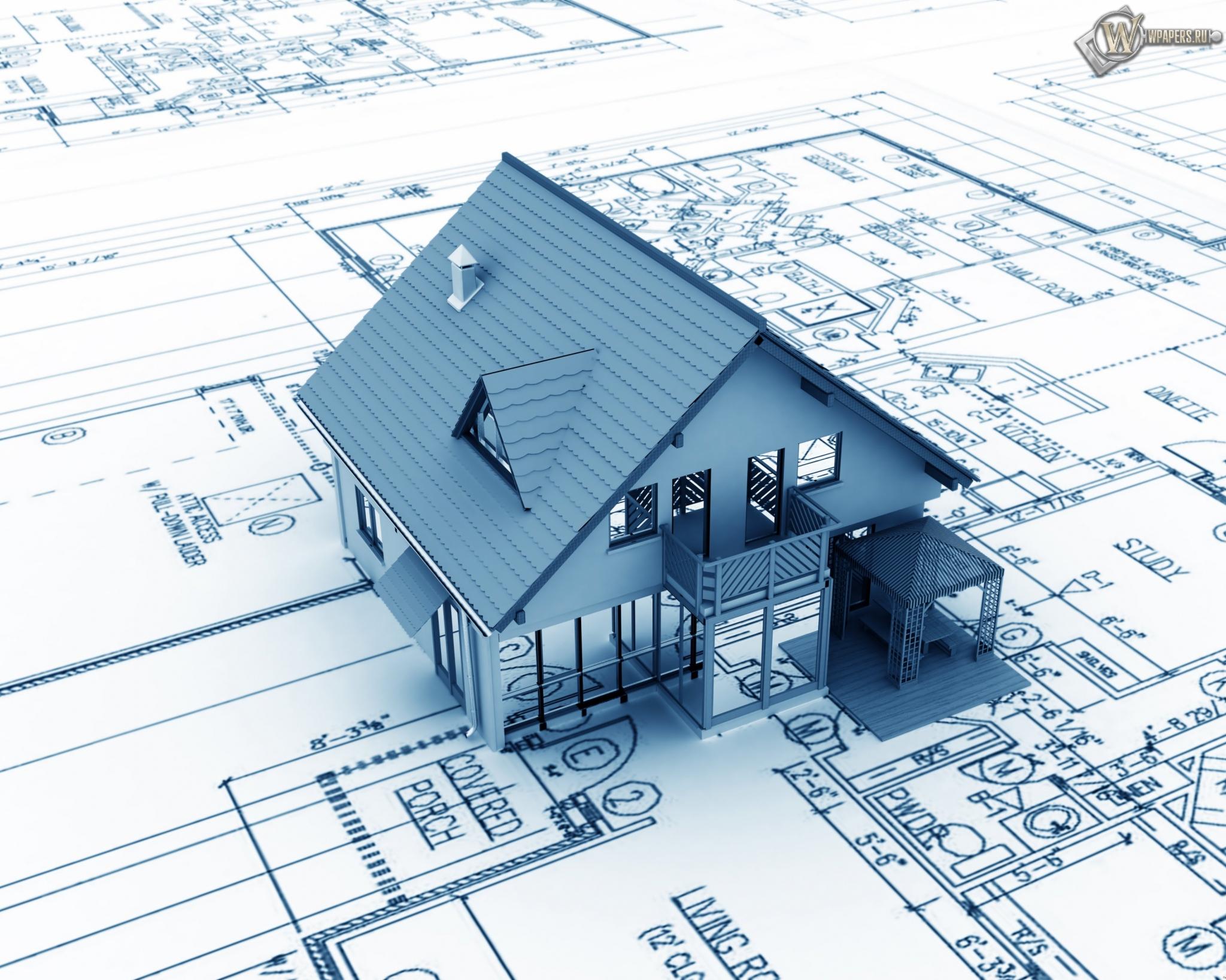Проект Дом с террасой и балконом 8х6: фото и планировка