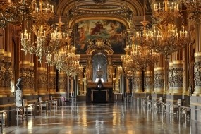 Обои Опера Гарнье в Париже: Золото, Париж, Дворец, опера, Прочая архитектура