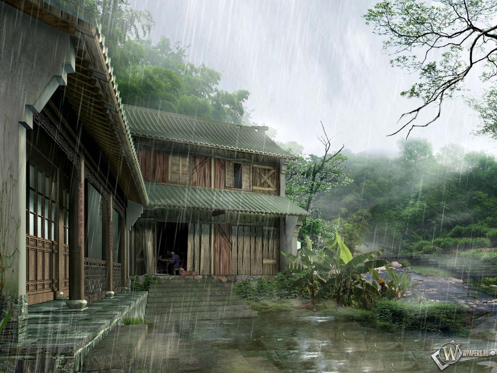 Японский Дом 1600x1200