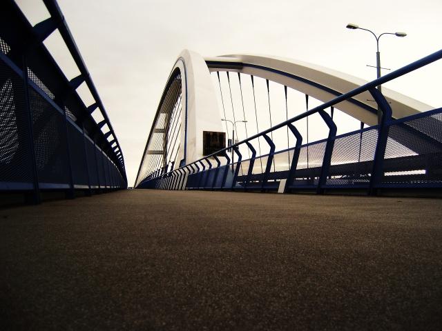 Пешеходная дорожка моста