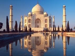 Обои Taj Mahal: Мавзолей, Индия, Тадж-Махал, Прочая архитектура