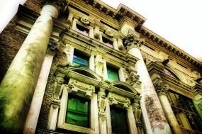 Обои Фасад: Дом, Фасад, Прочая архитектура