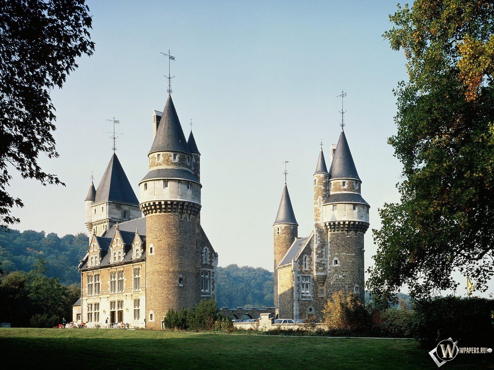 Замок в Бельгии 1600x1200