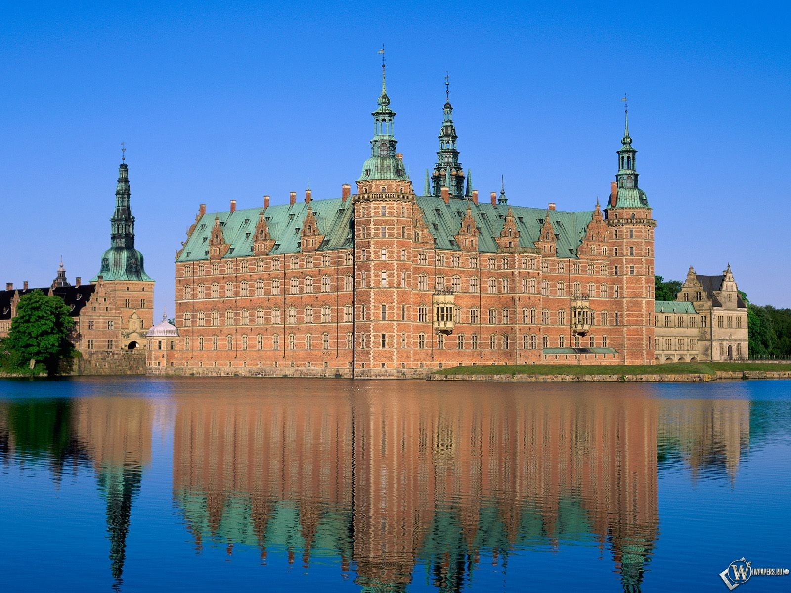Замок Фредериксборг, Дания 1600x1200