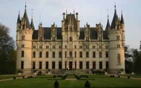 Обои Castle Chateau Challain the Chambord of Anjou Франция: Франция, Замок, Замки