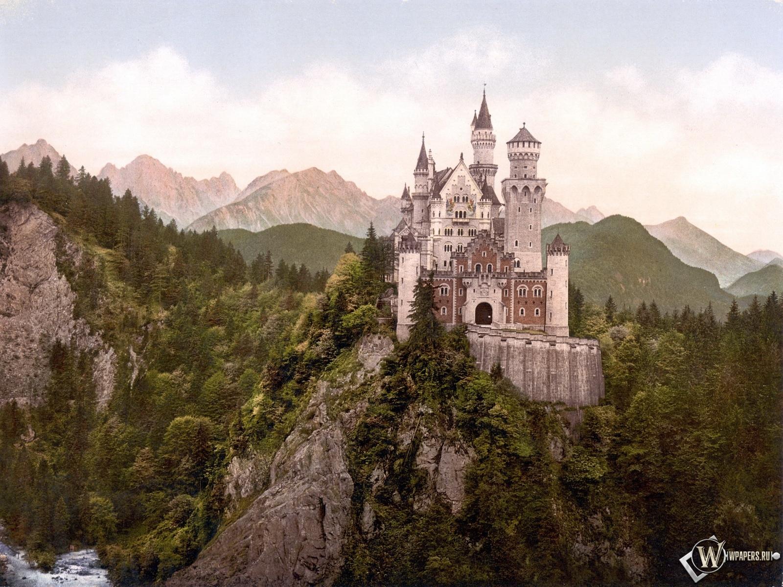 Замок Нойшванштайн 1600x1200
