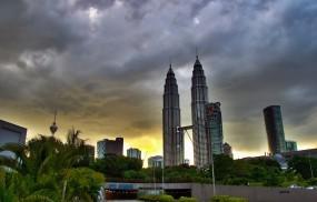 Обои Petronas Twin Towers - Kuala Lumpur: Kuala Lumpur, Towers, Небоскрёбы
