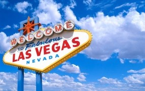 Обои Лас-Вегас: Облака, Город, Лас-Вегас, Города