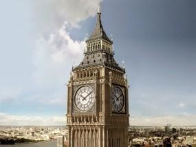 Обои Биг-Бен: Англия, Города, Биг-Бен, Города