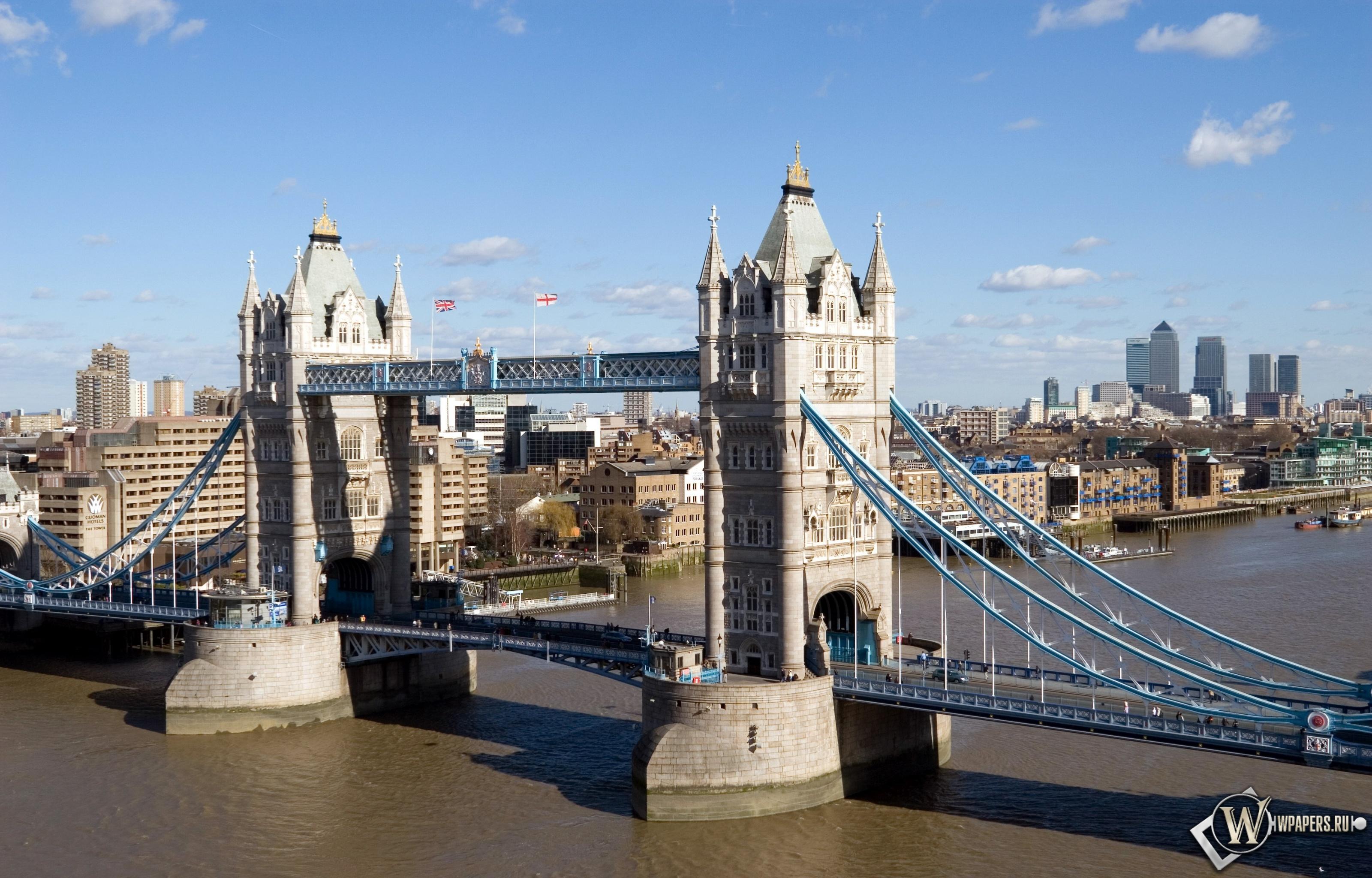 Обои тауэрский мост лондон на рабочий