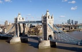 Обои Тауэрский мост Лондон: Река, Город, Мост, Лондон, Города