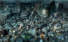 Обои Мегаполис: Город, Мегаполис, Дома, Улица, Города