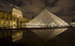 Обои Лувр Париж: Франция, Париж, Лувр, Города
