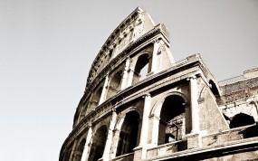 Обои Колизей Рим: Город, Колизей, Рим, Города
