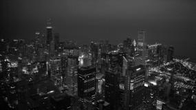 Обои Вечерний Чикаго: Город, Вечер, Чикаго, Города