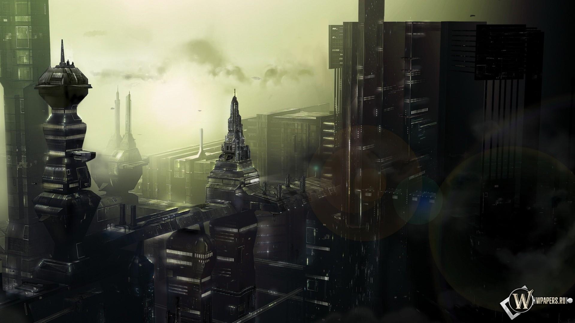 Город будущего 1920x1080
