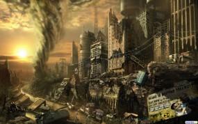 Обои City final high: , 3D Города