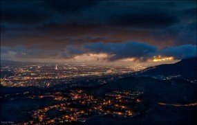 Обои Сalifornia: Cloudy, Burbank, California, Города