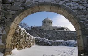 Обои Херсонес храм: , Крым