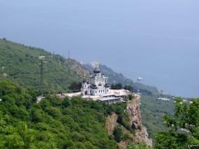 Обои Собор над Форосом: Крым, Собор, Форос, Крым