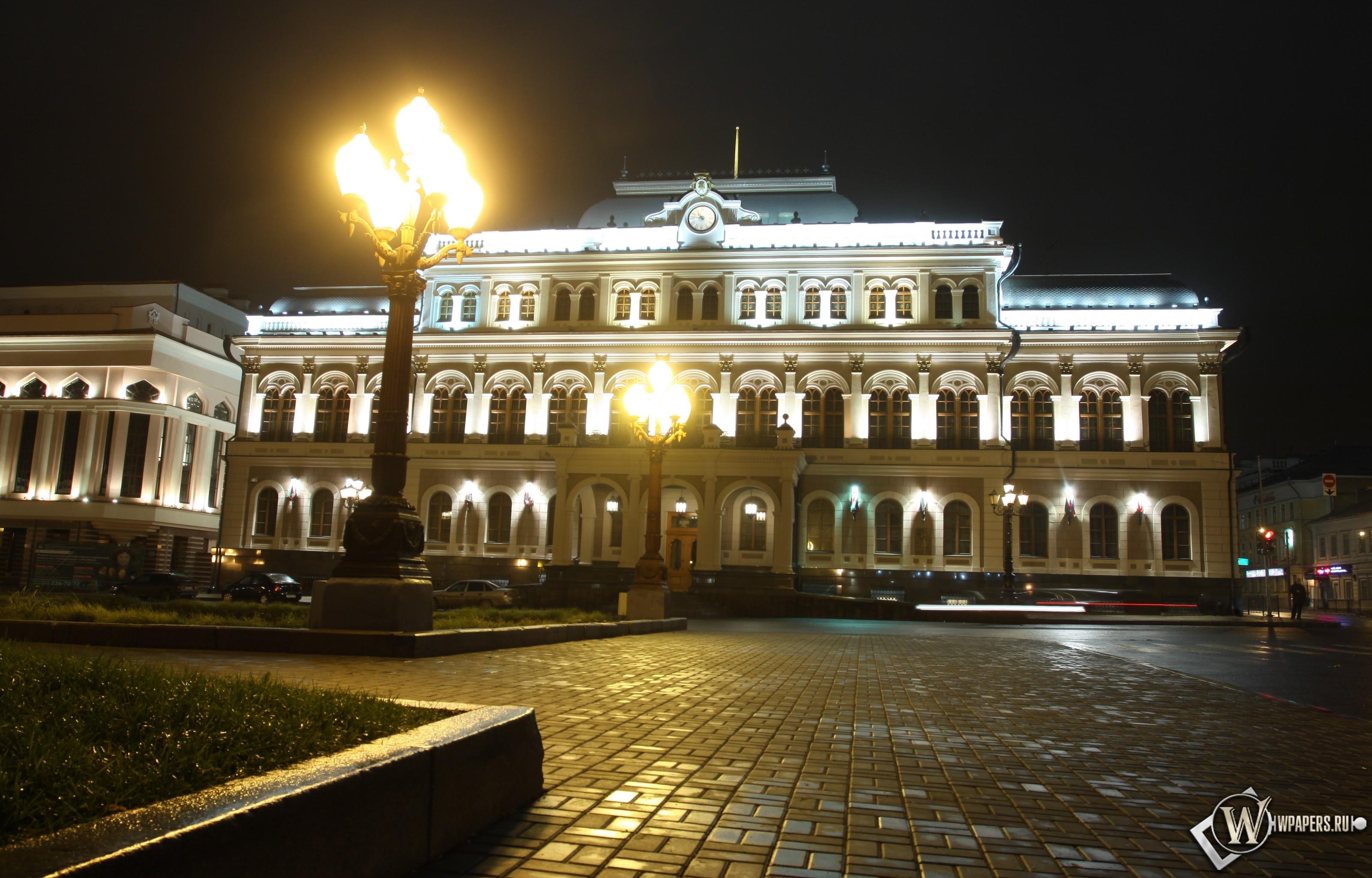 Казанская Ратуша на площади свободы 3200x2048
