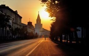 Обои Казань ул. Кремлевская: Казань, Кремль, Улица, Казань
