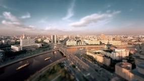 Обои Утренняя Москва: Река, Дома, Москва, Москва
