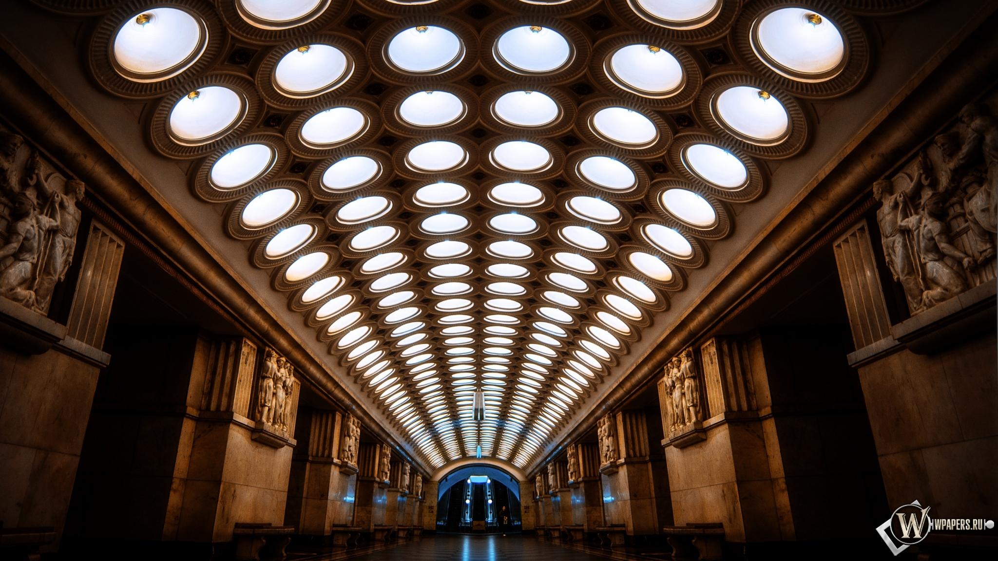 Москва метро 2048x1152 картинки
