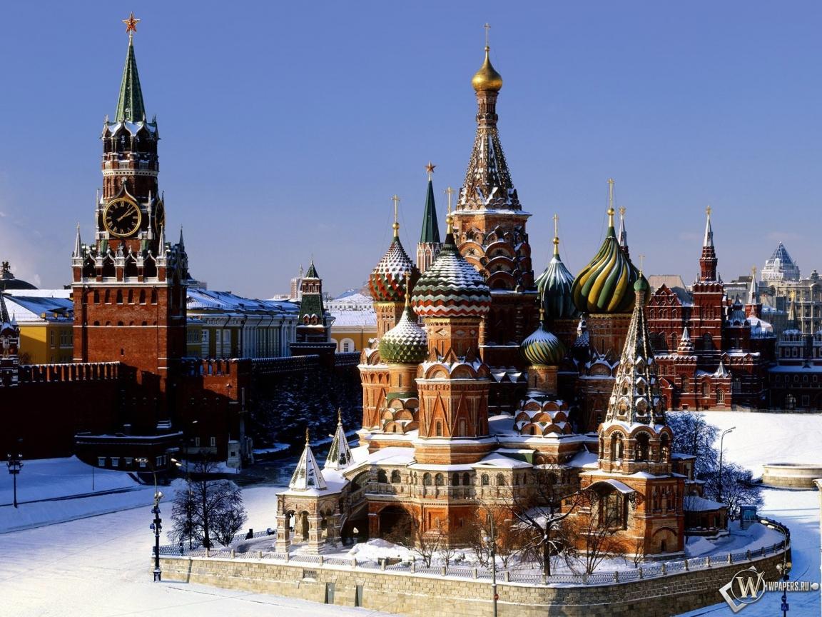 Москва храм кремль москва 1152x864