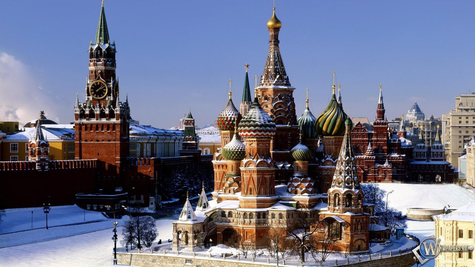 Москва храм кремль москва 1600x900