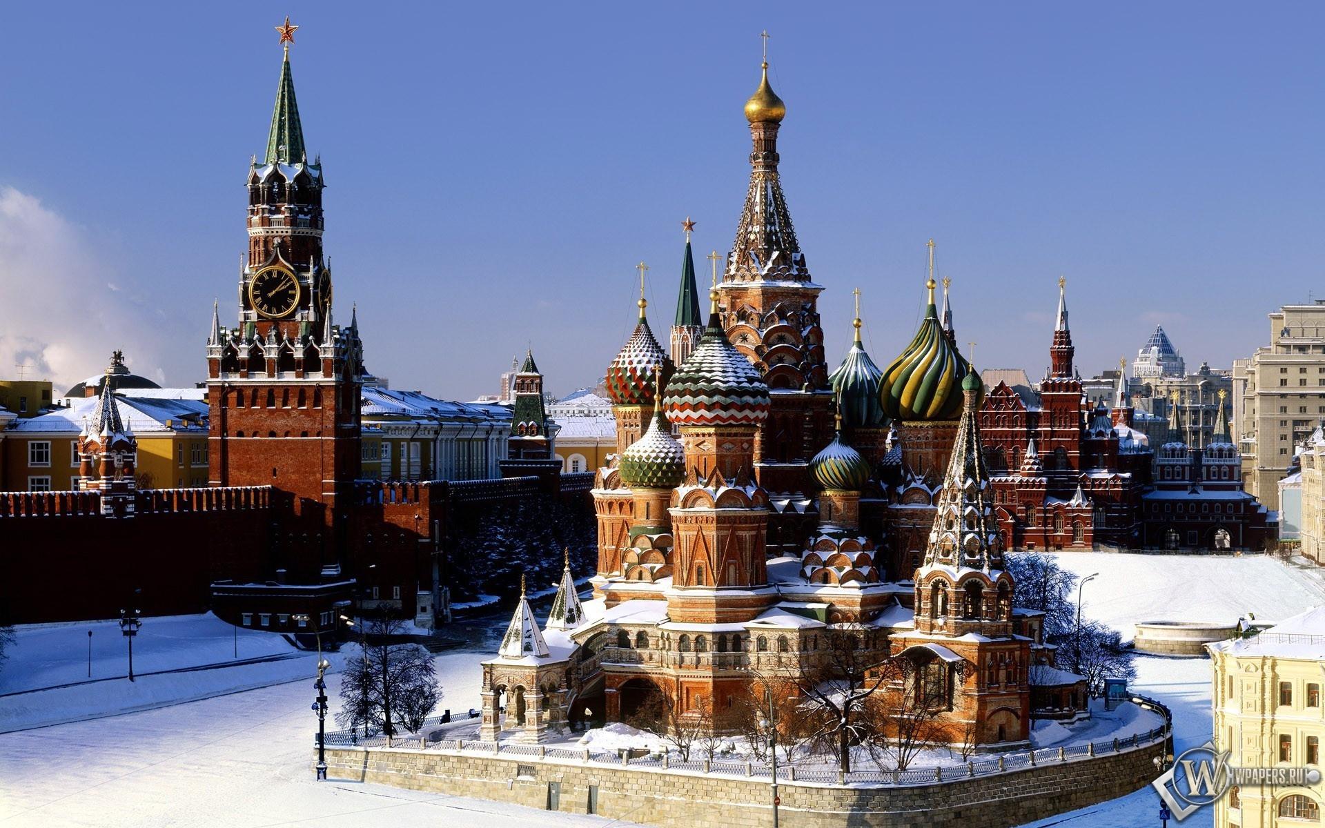 Москва храм кремль москва 1920x1200