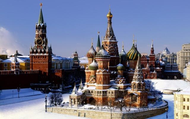 москва фотообои: