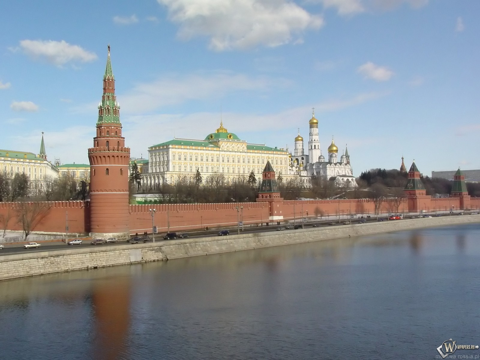 Кремль (Москва) 1600x1200
