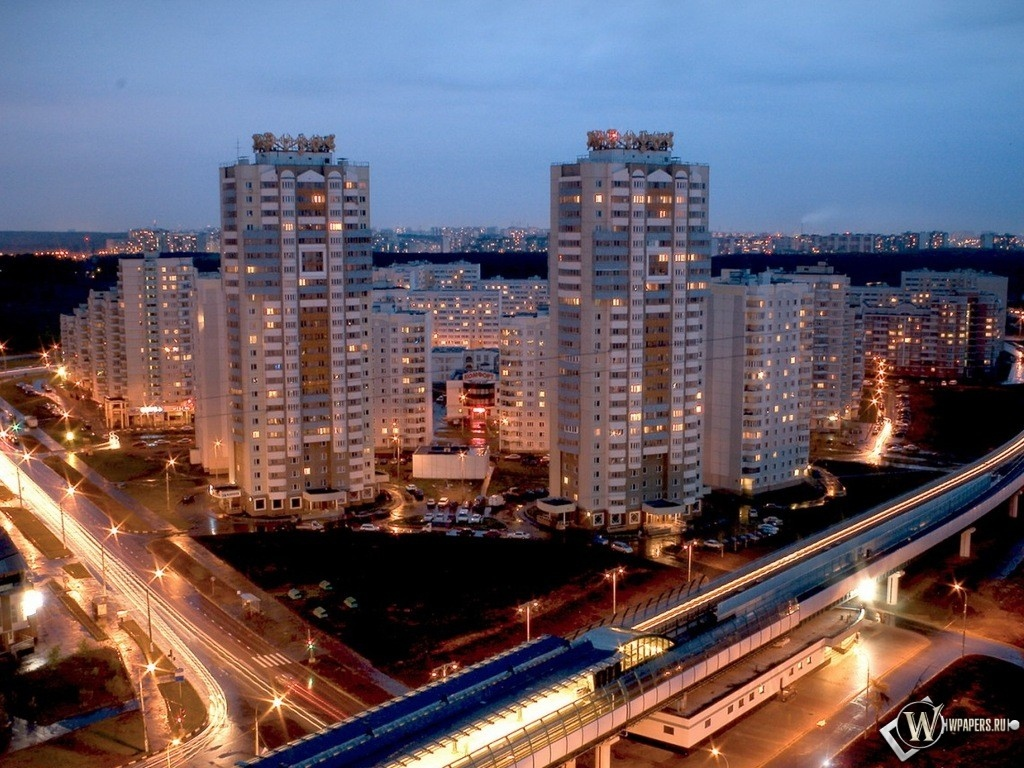 Москва Бутово 1024x768