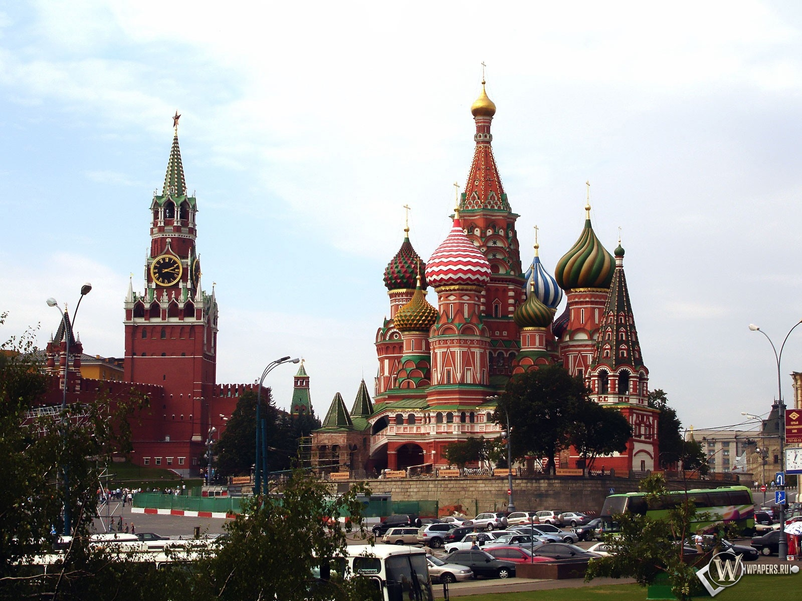 Московский кремль 1600x1200