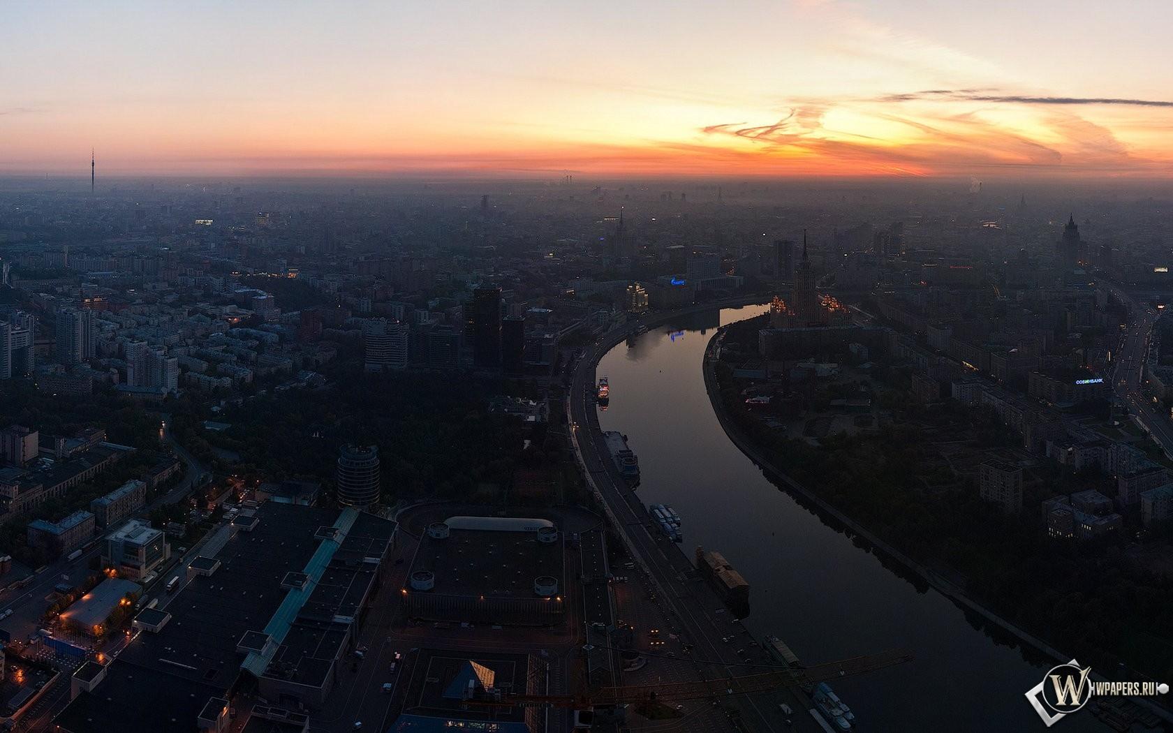 Москва река 1680x1050